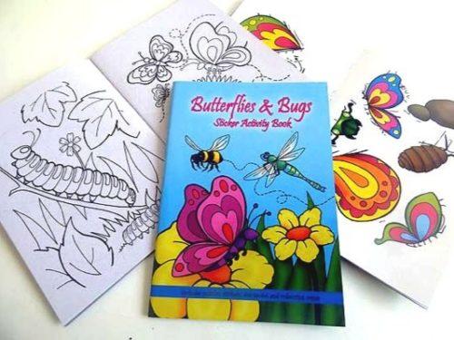 Butterflies and Bugs Sticker Activity Book