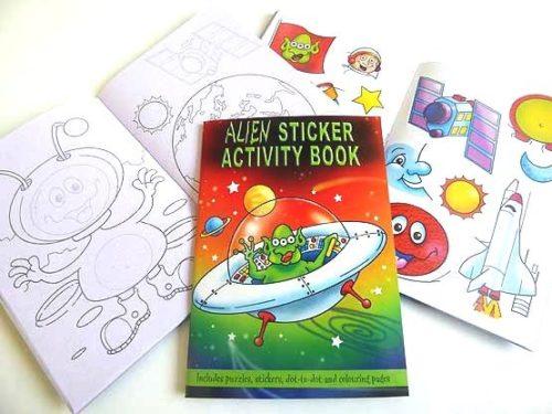 Alien Sticker Activity Book