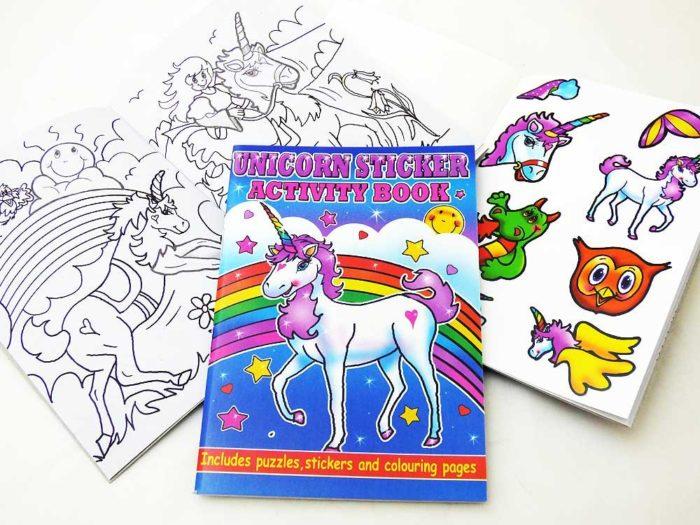 Unicorn Sticker Activity Book