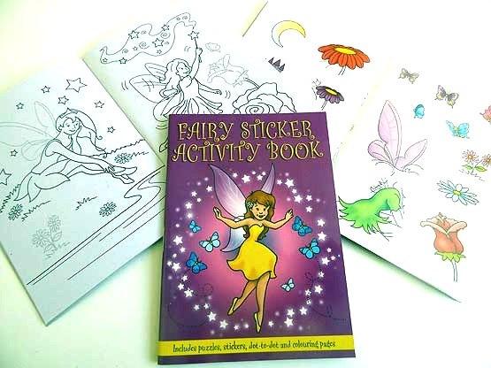 Fairy Sticker Activity Book