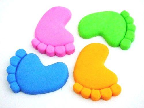 Bare Foot Eraser