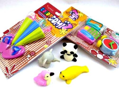 Girls Eraser Gift Set