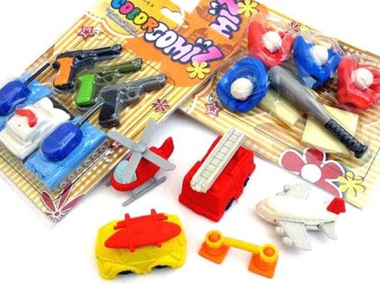 Boys Eraser Gift Set