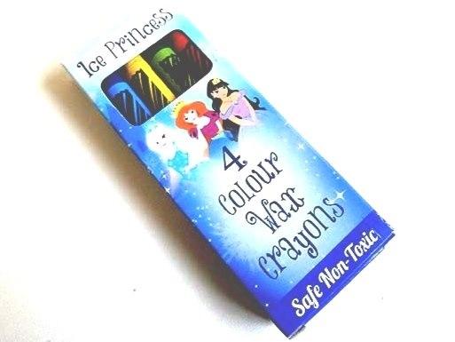 Ice Princess Wax Crayons (4)