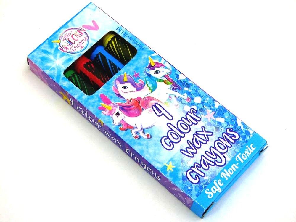 Unicorn Wax Crayons (4)