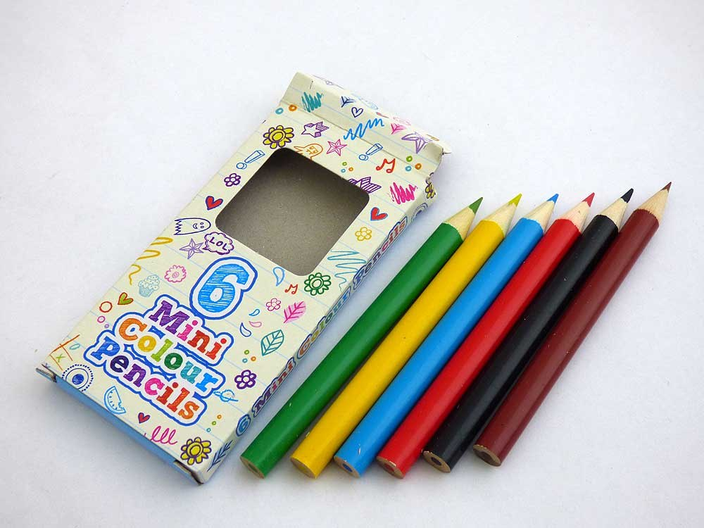 Box of Six Colouring Pencils