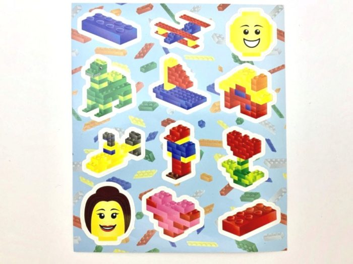 Bricks Sticker Sheet
