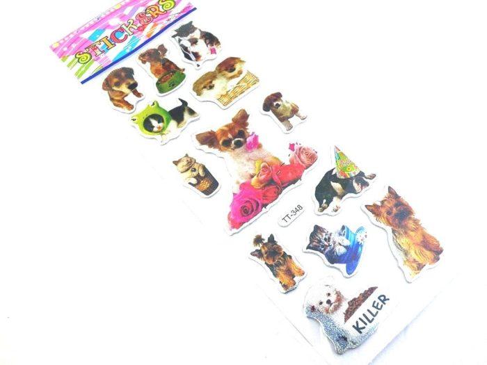 Sparkle Sticker Sheet - Dogs & Cats