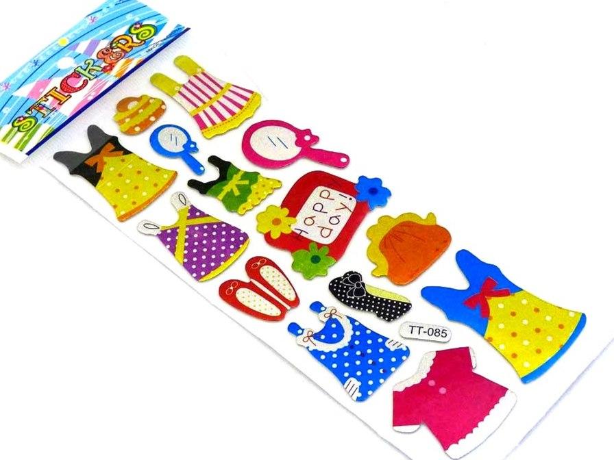 Sparkle Sticker Sheet - Fashion
