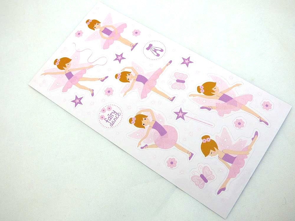 Mini Stickers - Ballet Fairy