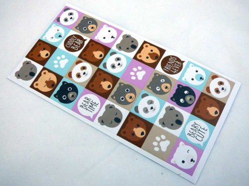 Mini Stickers - Teddy Bears