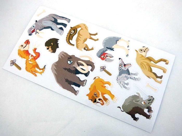 Mini Stickers - Ice Age