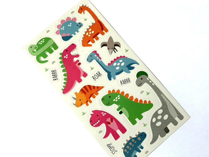 Mini Stickers - Dinoland