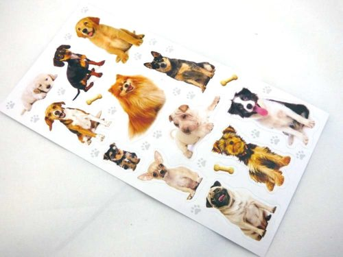 Mini Stickers - Dogs & Puppies