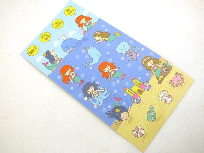 Mini Stickers - Mermaid