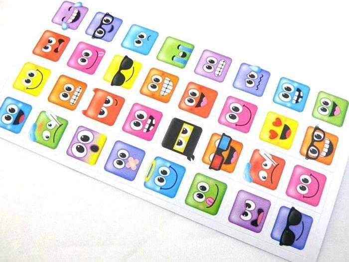 Mini Stickers - Mood Dudes