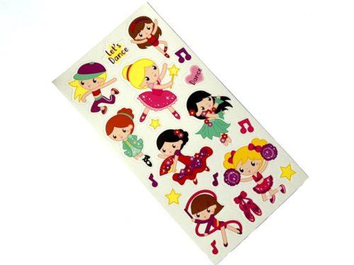 Mini Stickers - Dancer
