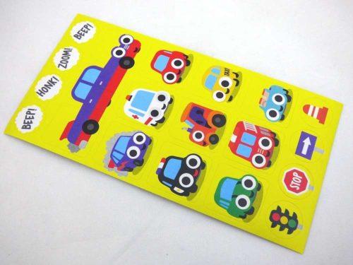Mini Stickers - Vehicles
