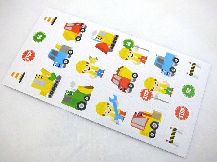 Mini Stickers - Builder