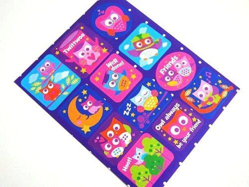 Owls Sticker Sheet