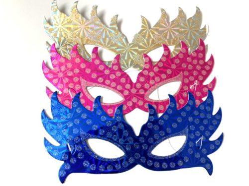 Glitter Foil Party Mask