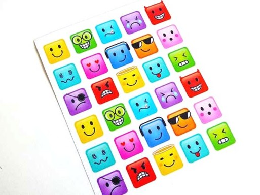 Emoji Sticker Sheet