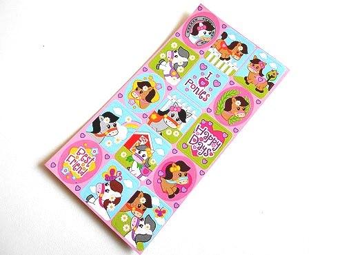 Pony Lovers Sticker Sheet