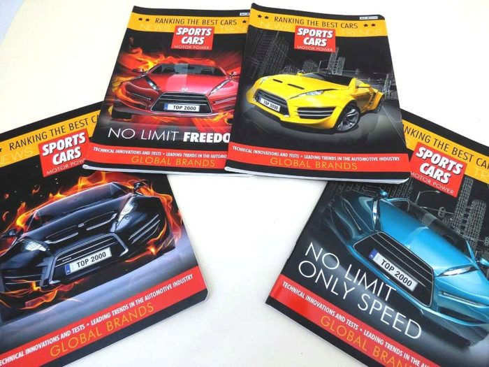 Sports Car Designer Exercise Book