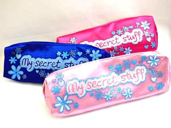 Glitter Secret Pencil Case