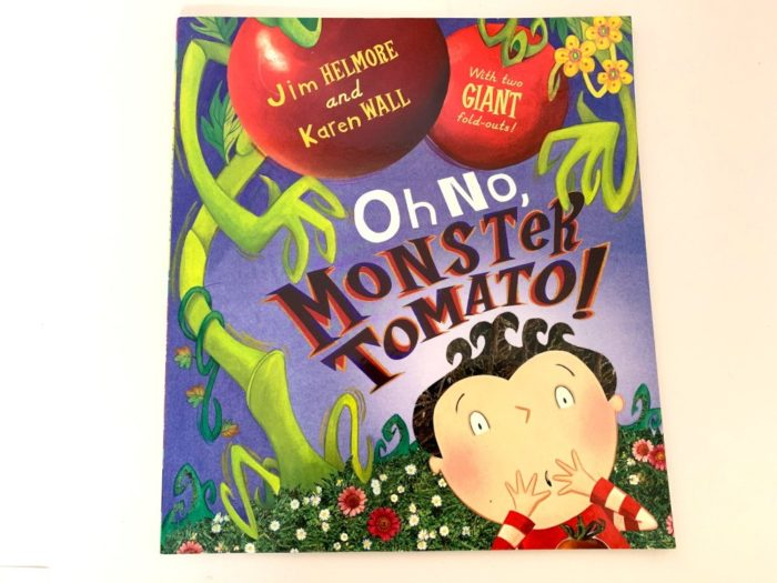 Oh No, Monster Tomato