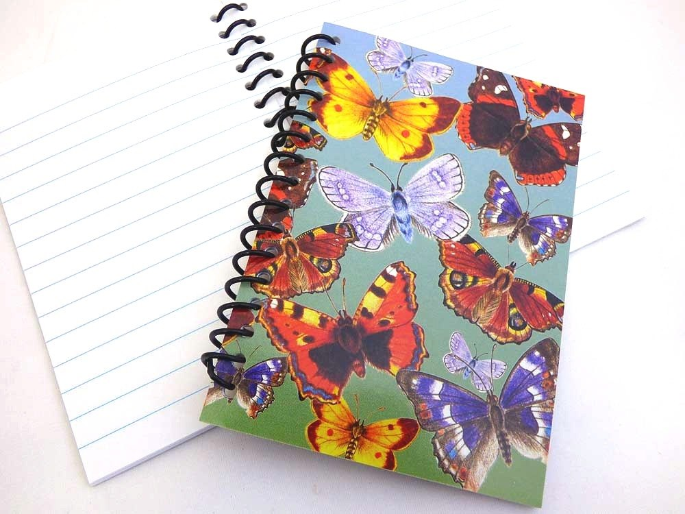 Spiral Bound Butterfly Notebook