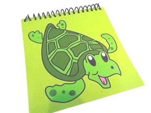 Turtle Spiral Bound Notebook