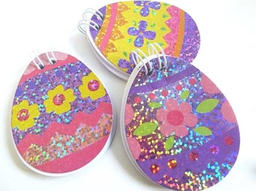 Sparkle Oval Note Pad