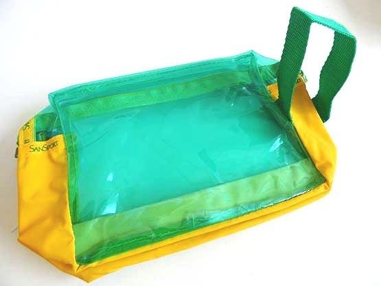 Green & Yellow Pencil Case