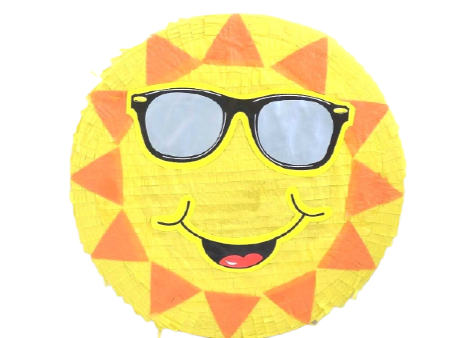 Smiley Emoji Piñata