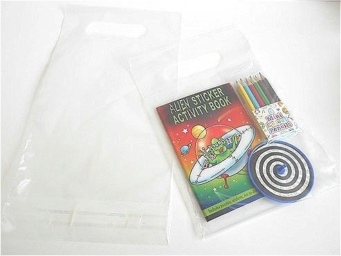 Resealable Plastic Carry Bag