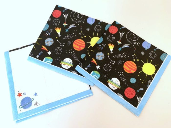 Outer Space Napkins