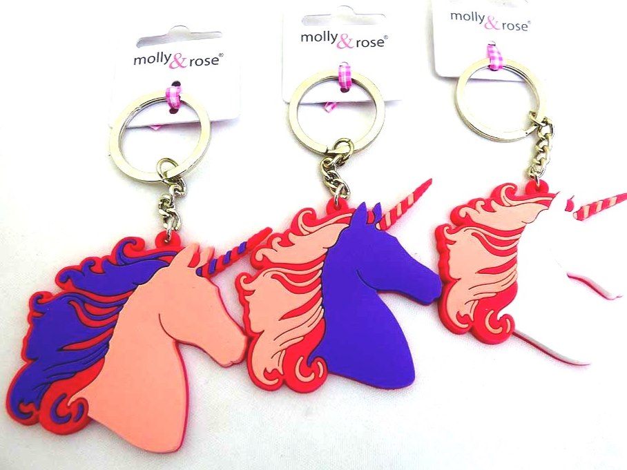 Unicorn Key Ring