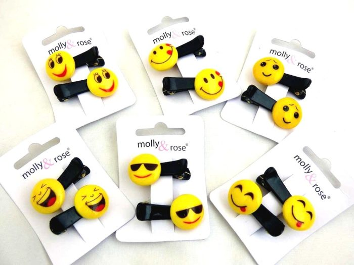 Emoji Mini Beak Clips