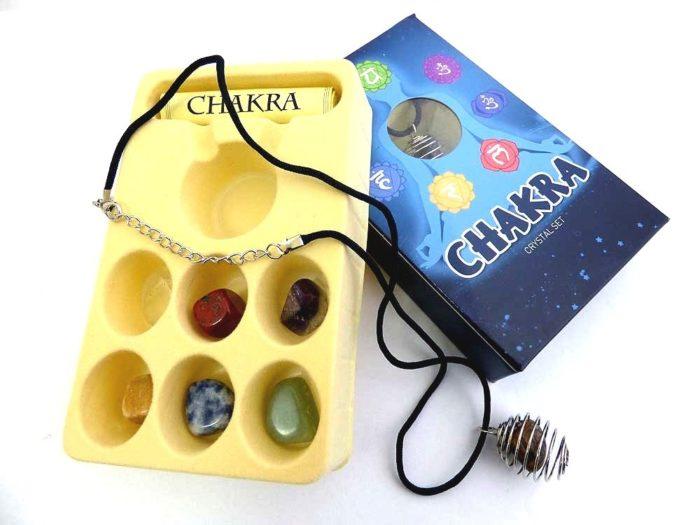Chakra Crystal Set & Pendant