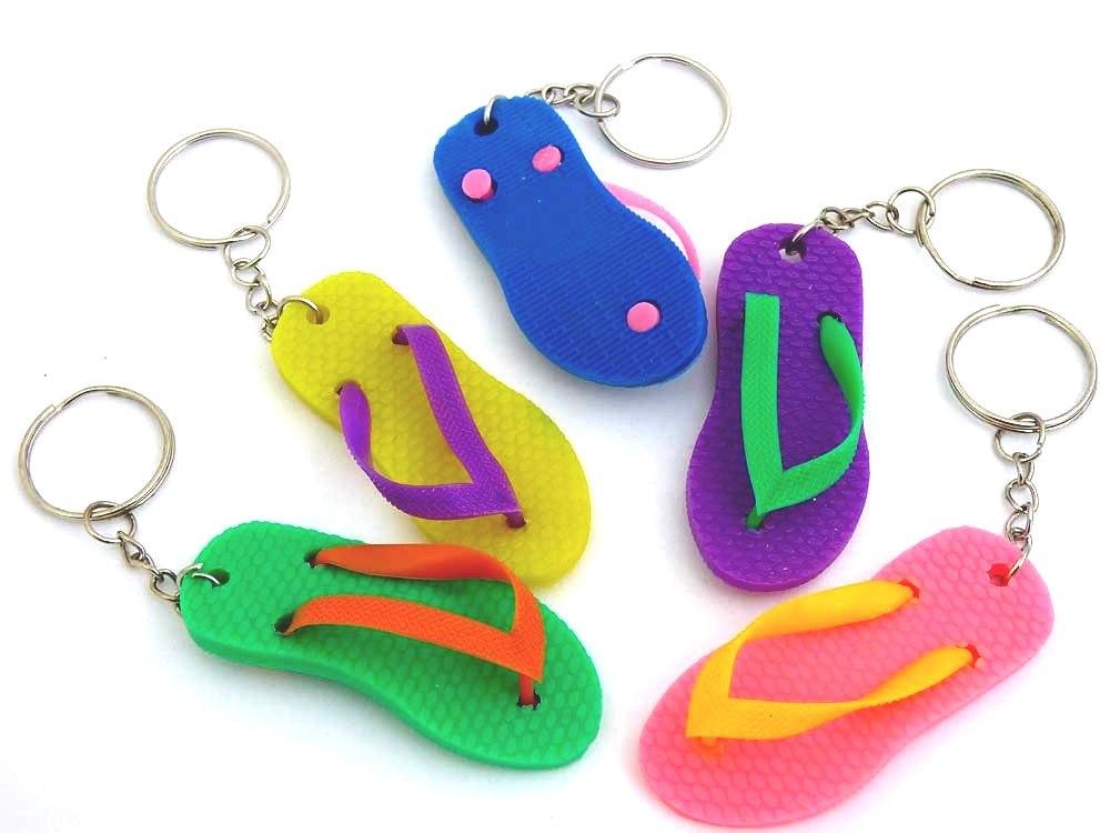 Flip Flop Key Ring