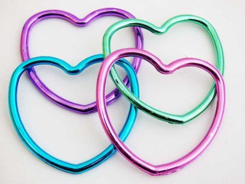 Shiny Heart Bangle