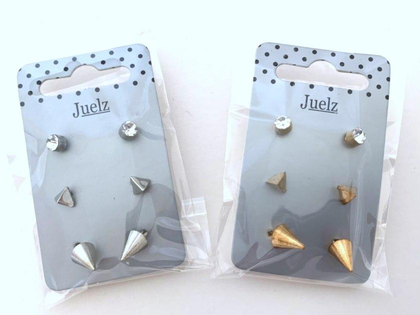 Triple Stud Earring Set