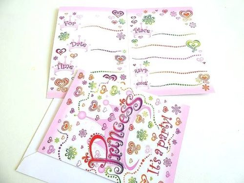 Princess Diva Invitation