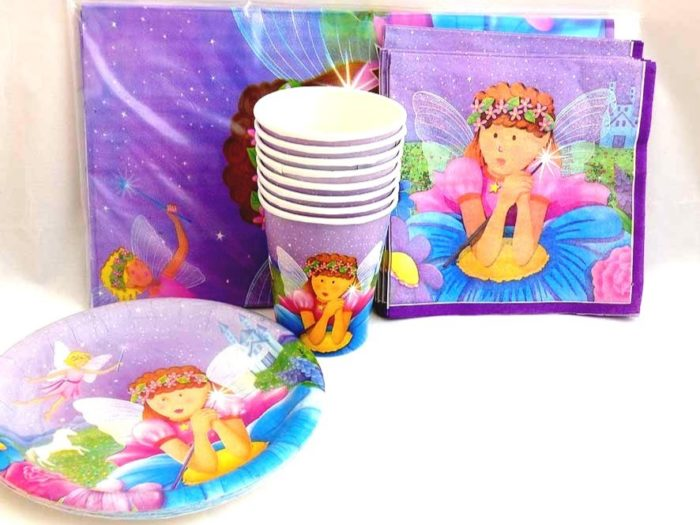 Fairy Table Setting Party Pack for 8 people