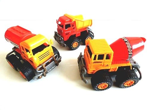 Large Friction Power Construction Vehicle