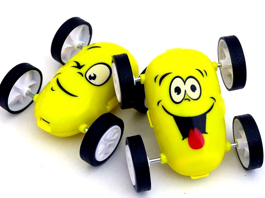 Emoji Flip Over Car