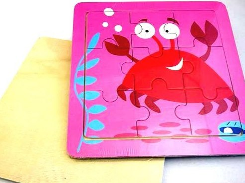 Wooden Crab Jigsaw Puzzle