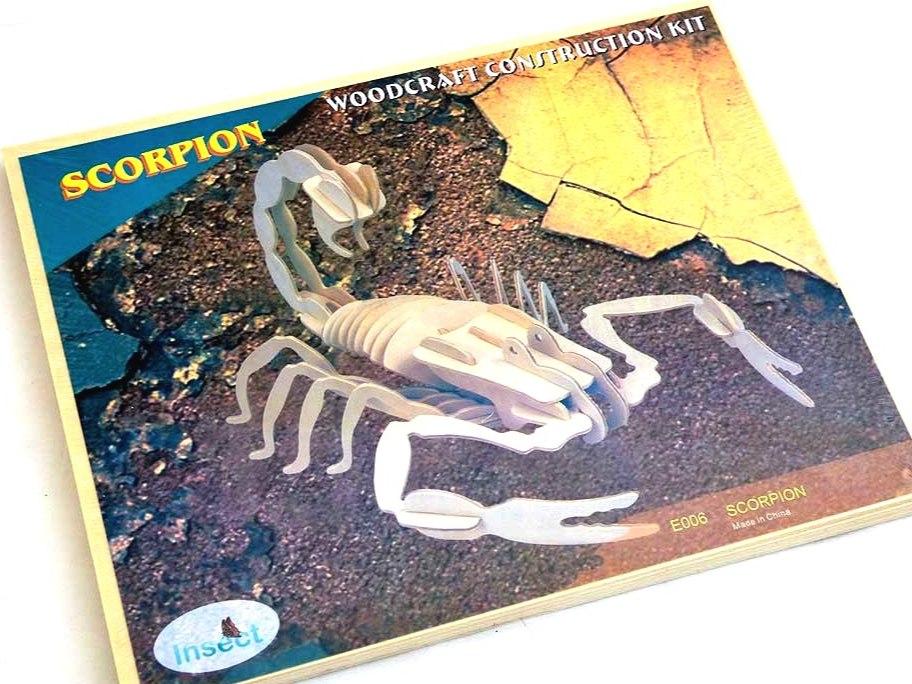 Wooden Scorpion Kit