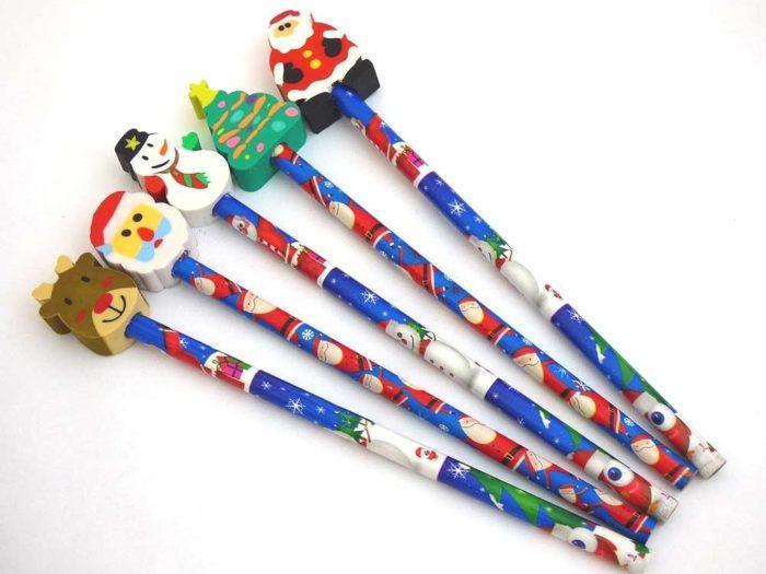 Christmas Eraser Pencil